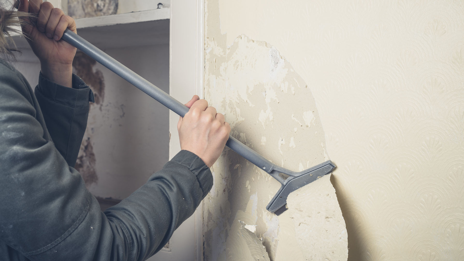 Removing Old Wallpaper Loftway
